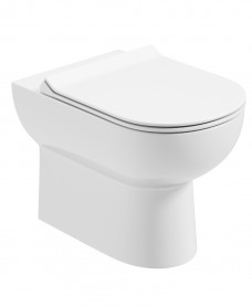 Viva Back To Wall WC - Slim Soft Close Seat