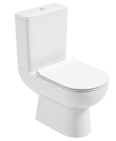 Viva Close Coupled WC - Slim Soft Close Seat