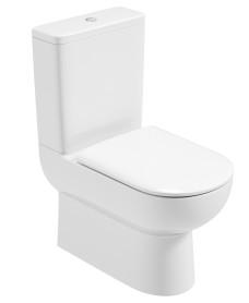 Viva Fully Shrouded WC - Soft Close Seat