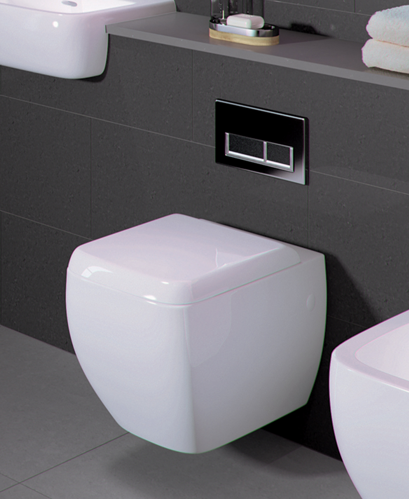 Rak Metropolitan Wall Hung Toilet And Soft Close Seat