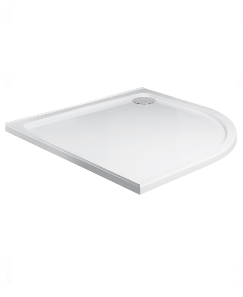Kristal Low Profile 800 Quadrant Upstand Shower Tray With