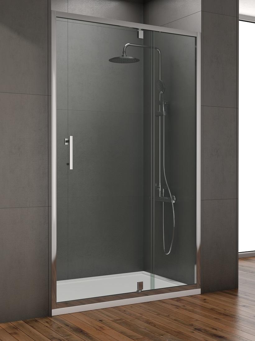 Style 1000mm Inline Pivot Shower Door Adjustment 950 990mm