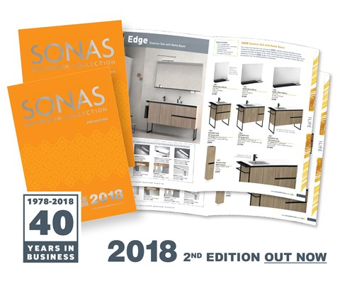 SONAS 2nd Edition 2018 Catalogue Out now