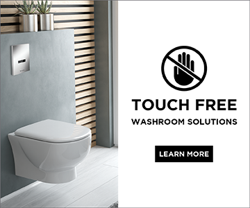 Touch Free Solutions from SONAS Bathrooms.
