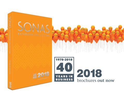SONAS 2018 Catalogue Out now