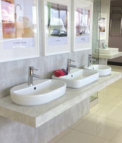 bathroom showroom in dublin