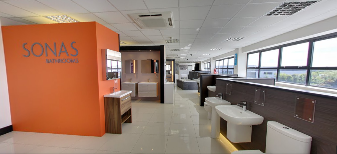 bathroom showrooms dublin